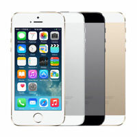 Sealed Box iPhone 5S 16/32/64GB Unlocked Smart Phone Silver Gold Space Grey LM~
