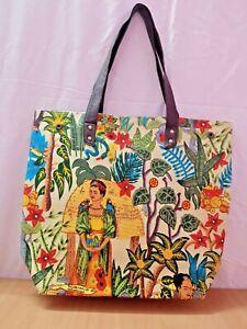 Frida Kahlo Womens Designer Handbag Shoulder Messenger Tote Purse Ladies Bag New