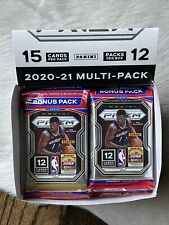 2020-2021 NBA Panini Prizm Basketball Cello Multipack - Box of 12 Packs