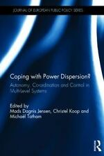 Journal of European Public Policy Special Issues As Bks.: Coping with Power...