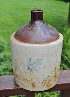 Vintage Monmouth Western Stoneware 1 Gallon Crock Jug