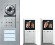Gira 049546 Zweifamilienhaus-Paket Video Türstation