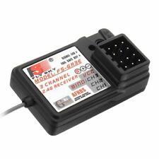 2.4Ghz Flysky FS-GR3E 3-canaux Récepteur 3CH pour Fs-gr3c Gt3b Gt2 RC Voiture Bateau UK