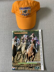 2005 Haskell Invitational Hat & Program - Monmouth Park August 7,2005