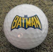 (36) 3 Dozen Batman Yellow Letters Mint AAAAA Logo Nike AAAAA Used Golf Balls