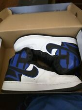 Nike Air Force 1 High LV8 Men's White/Black/Game Royal 06403104