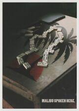 MALIBU RUM Tower Records Dominoes Game Postcard 1997
