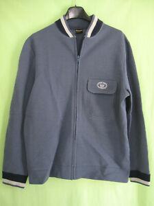 Veste Trevois France Laine et Acrylique Grise Vintage 80'S jacket - 177 / M