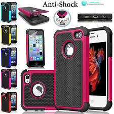 Anti-Slip Protective Case For iPhone 5C, 5 ,4 Shockproof Workman Silicone Cover