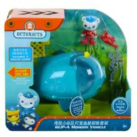 Octonauts Gup-A and Barnacles Mission Vehicle With Rescue Tools Land & Water Toy