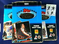 Lot of 3 - 1991 Topps Stadium Club Hockey Box - Unopened - 36 CT - GRETZKY