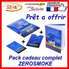 Pack cadeau ZEROSMOKE Quit tabac arreter fumer stop tabac