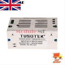 5 A DC-DC Auto Boost Buck Step Up/Down Converter Module tension Boîtier en aluminium UK