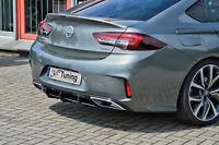 Gefräßter Heckansatz Heckeinsatz Diffusor aus ABS für Opel Insignia B GSI