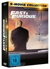 Fast & Furious - 9-Movie Collection [9 DVDs],   DVD BOX NEU OVP