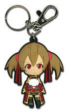 **License** Sword Art Online PVC Keychain SD Angry Silica #36755