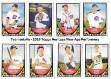 Carte collezionabili baseball Heritage stagione 2016