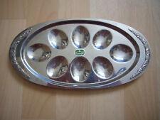 WMF Eierplatte Eier-Servierschale Cromargan sehr gute Zustand 18/10 stainless