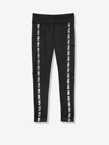 VICTORIA'S SECRET PINK Ultimate Fleece Lined Phone Pocket Legging Pants Black L