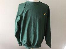 Augusta National Golf Shop Masters Pullover Wind Jacket Slazenger XL Green