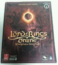BOOK - The Lord Of The Rings Shadows Of Angmar Online Game Guide Prima 2007 PB