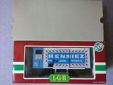 "LGB G Gauge 4228 ""Henniez - Pure.. Legere.. Naturelle.."" Refrigerator Car ~ TS"