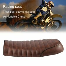 Universal Cafe Racer Seat Waterproof Leather Padded with Sponge for Honda CG TT