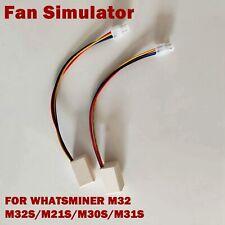 2pcs Fan Simulator for Whatsminer M32/M32S/M21S/M30S/M31S Bitcoin Miner Mining