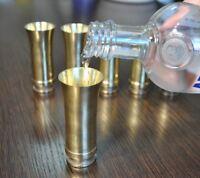 Wehrmacht Metal Shot Glass Flak WWII WW2 Germany Army original Trench Art Deco