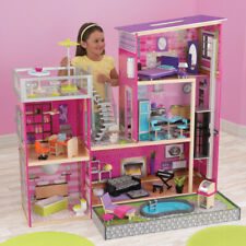 Kidkraft Uptown Dollhouse With Outdoor Swimming Pool Barbie House 65833