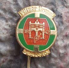 Larger Pilsner Urquell Brewery Original Pils Beer Lager Gate Motif Pin Badge