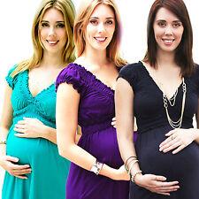 Elegant Maternity Pregnant Evening Dress