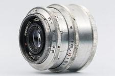 Industar-50 50mm F3.5 Silver M39