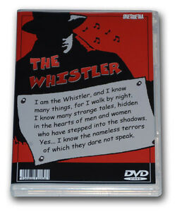 THE WHISTLER - THE FILMS COLLECTION - 4 DVD-R - 8 MOVIES