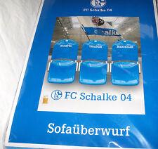 FC SCHALKE 04 - Sofaüberwurf, ca. 140 x 170 cm,Neu,OVP,Lizenzware