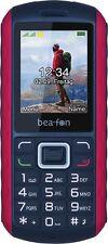 Bea-fon AL550 Handy Großtastentelefon Dual-SIM Kamera Wasserfest Robust Rot