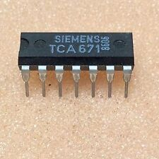 1 PC. tca671 transistor array 5 x NPN 45v 0.2a dip14 NOS