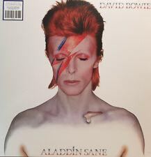 David Bowie - Aladdin Sane - 45th Anniversary - SILVER Vinyl LP Record - Limited