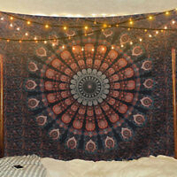 Mandala Tapestry Hippie Wall Hanging Art Bedspread Tapestries Home Room Decor