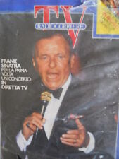 TV Radio Corriere n°38 1986 Coppe Europee Poster Gigante - Frank Sinatra [C69]