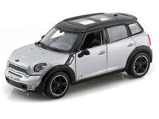 MINI COUNTRYMAN 1:24 Scale Diecast Car Model Die Cast Cars Models silver grey
