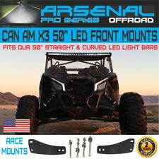 "Fit Can-am Maverick X3 MAX 4x4 Turbo 50"" LED Light Bar Upper Roof Mount Bracket"