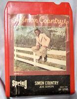 Joe Simon 8-Track 1973 Simon Country 8F5705 Spring 70s Soul Funk
