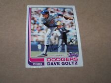 LOS ANGELES DODGERS DAVE GOLTZ 1982 TOPPS #674