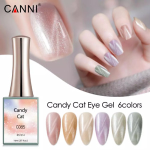 CANNI UV Nail Gel Polish CANDY CATEYE SERIES Shimmer Varnish Soak Off LED 16ML