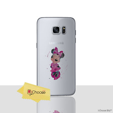 Cute Disney Soft Silicone Gel Case/Cover for Galaxy S6/S7/Edge/S8/S9/Plus Phone