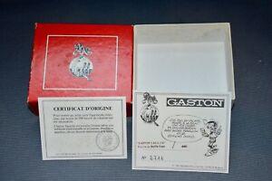 "BOITE VIDE PIXI DE GASTON LAGAFFE "" Gaston en Duffle coat "" avec certificat"