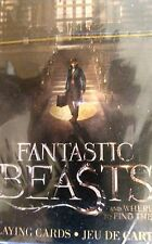 Fantastic Beasts and Where To Find Them Playing Cards! New Sealed!