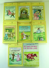 Lot of 8 Little House on the Prairie Books Laura Ingalls Wilder School Class AR