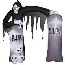 New Reaper Archway Inflatable - Airblown Yard Decoration Halloween Prop Gemmy